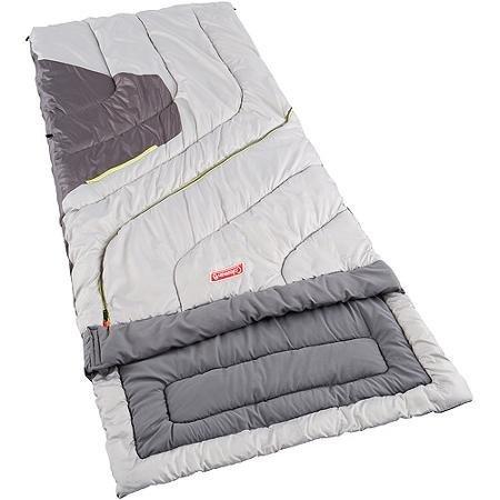 Coleman 30 - 70 Degree Big And Tall Adjustable Comfort All Weather Multi-purpose Sleeping Bag