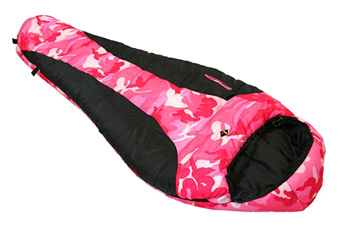 Ledge Sports Youth River Jr +0 F Degree Mummy Sleeping Bag (72 X 26 X 17)