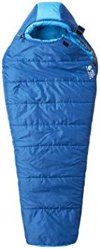 Mountain Hardwear Bozeman Flame Sleeping Bag - Women's Deep Lagoon Regular Left Handed