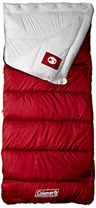 Coleman 2000032186 Autumn Meadows Sleeping Bag, Warm Weather, 33 x 75-In.