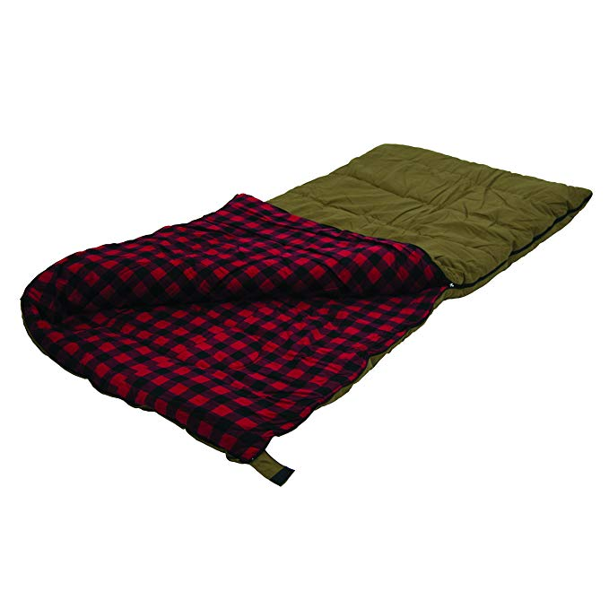 Stansport Kodiak 6 Lb. Canvas Sleeping Bag, 81