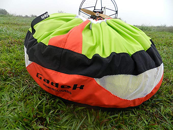Gadek Fast Stuff Sack for Paragliding Paramotor PPG powered garagliding (Red)