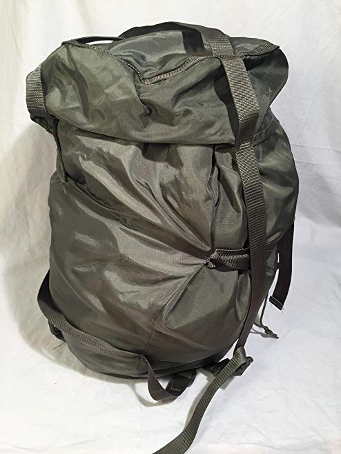 US Army MILITARY Foliage Green ACU Gray Sleeping Bag COMPRESSION SACK Bag LARGE by Tennier Industries NSN 8465-01-547-2757