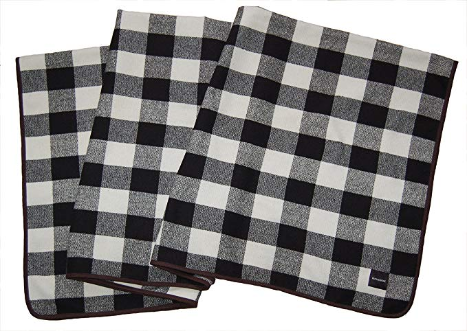Ruth&Boaz Outdoor Wool Blend Blanket Buffalo Check (O)